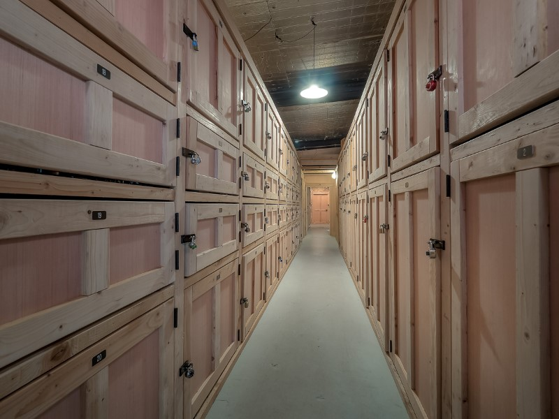 Oregon Wine Reserve Storage Lockers